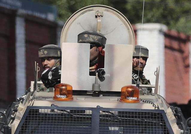 Militares del Ejército de la India en Cachemira (archivo)