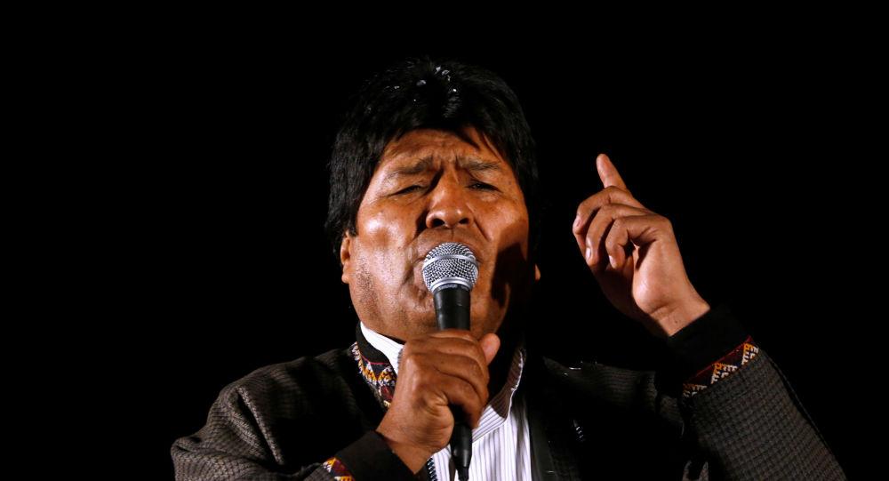 Evo Morales, expresidente de Bolivia (archivo)