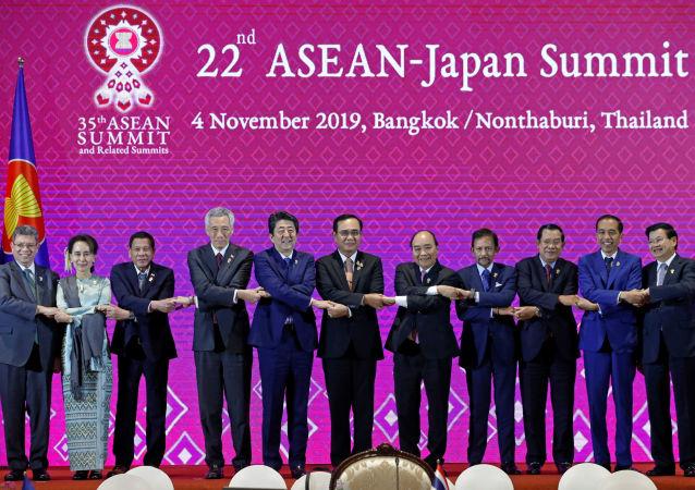 El foro de ASEAN en Tailandia