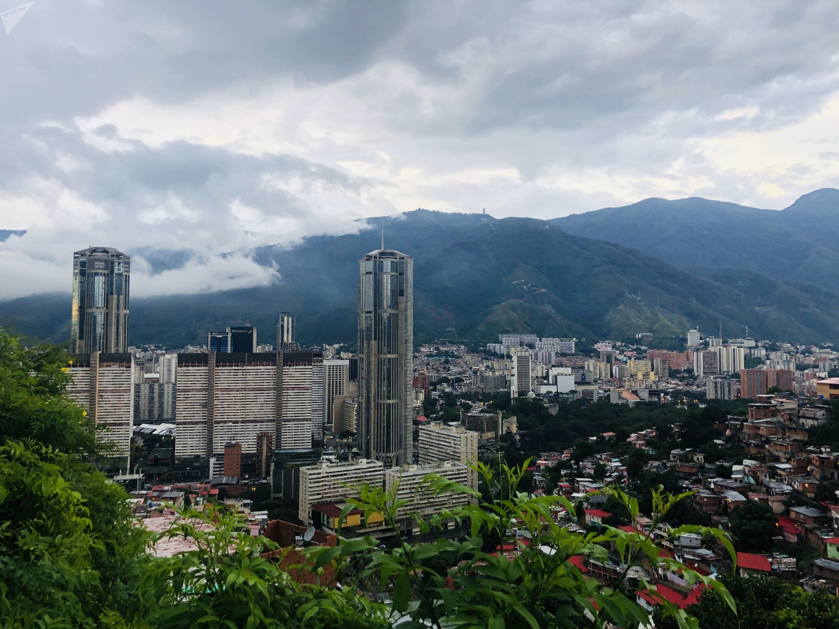 Vista panorámica de Caracas, Venezuela