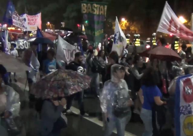 Manifestantes se apoderan de las calles de Sao Paulo por el caso Marielle