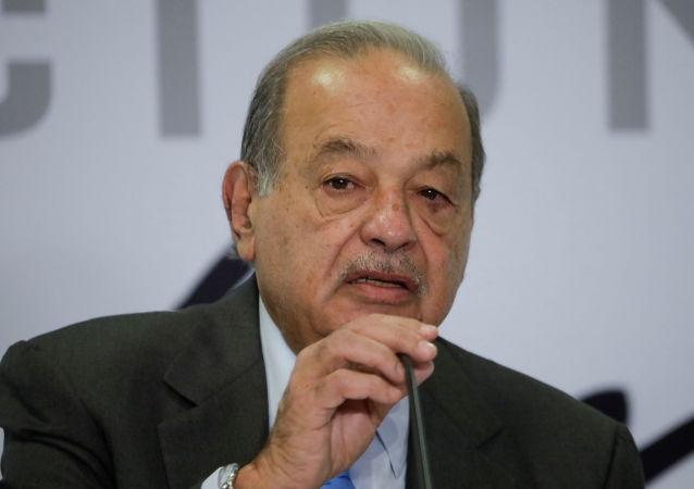 Carlos Slim, empresario multimillonario mexicano