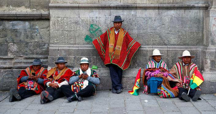 Partidarios de Evo Morales