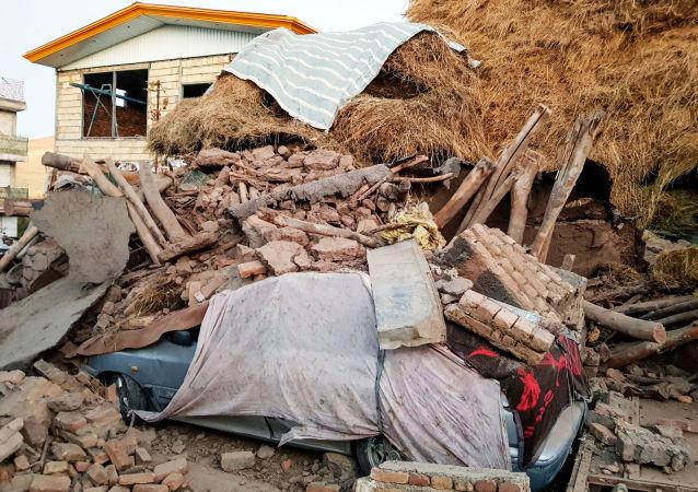Irán tras el terremoto