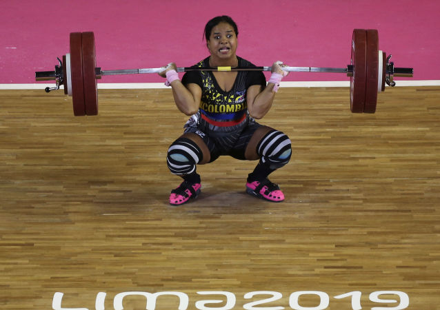 Mercedes Pérez, deportista colombiana