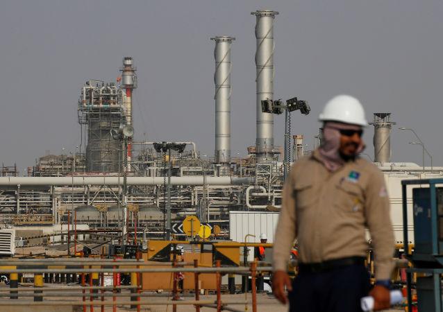 Una refinería de Saudi Aramco en Arabia Saudí