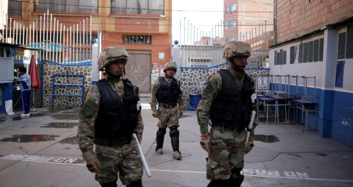 Soldados de las Fuerzas Armadas de Bolivia (archivo)