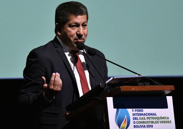 Luis Alberto Sánchez, exministro de Hidrocarburos boliviano