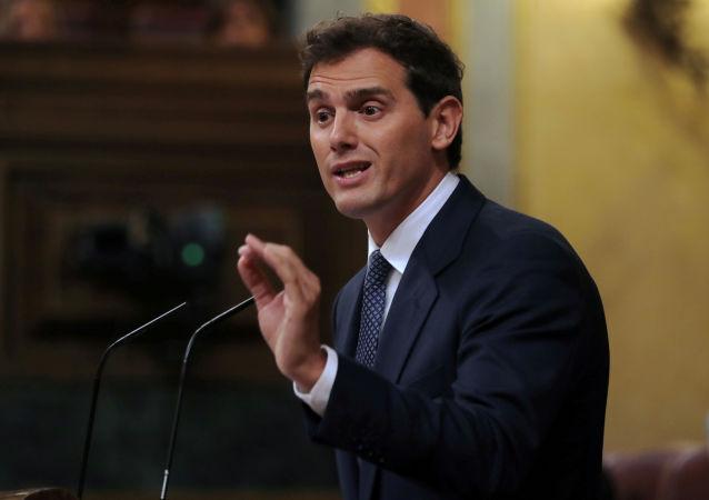Albert Rivera, líder del partido político español Ciudadanos