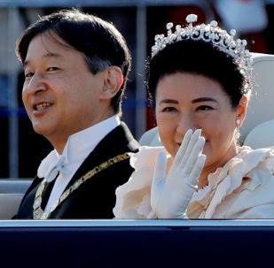 Tokio celebra la ascensión al trono del emperador de Japón con un desfile