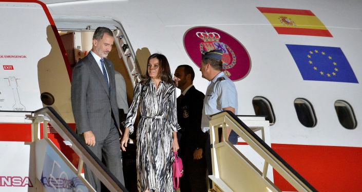 Los monarcas de España, Felipe VI y Letizia, arriban a Cuba