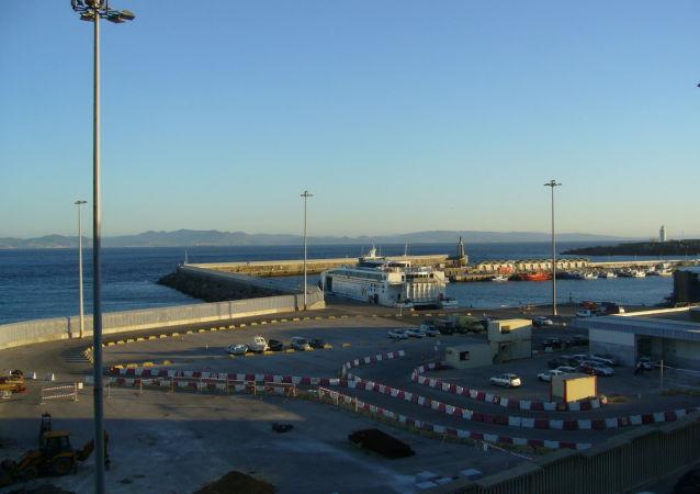 El puerto de Tarifa, España (imagen referencial)