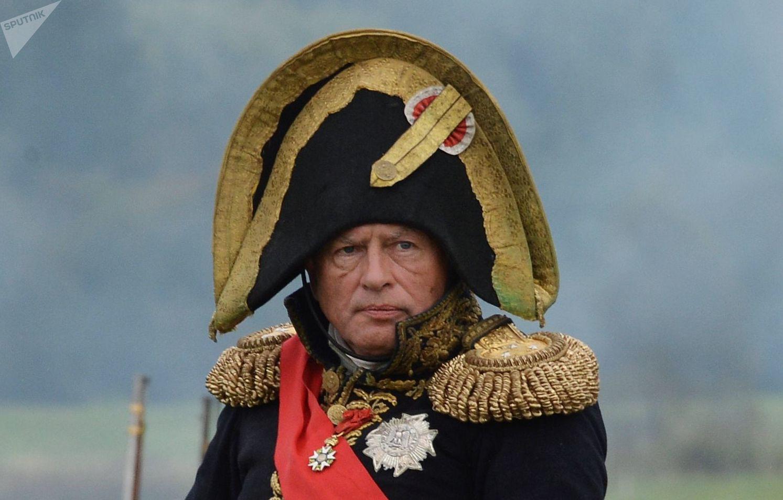 Sokolov participaba en las reconstrucciones de batallas históricas de la época de Napoleón