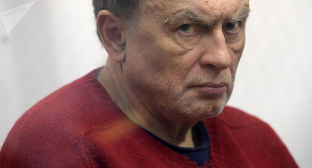 Oleg Sokolov, historiador acusado de asesinar a su pareja y estudiante