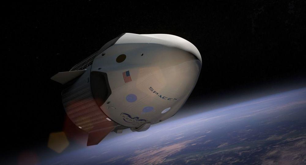 La aeronave Dragon de SpaceX