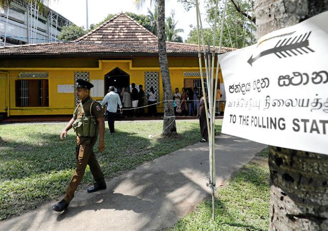 Elecciones presidenciales en Sri Lanka