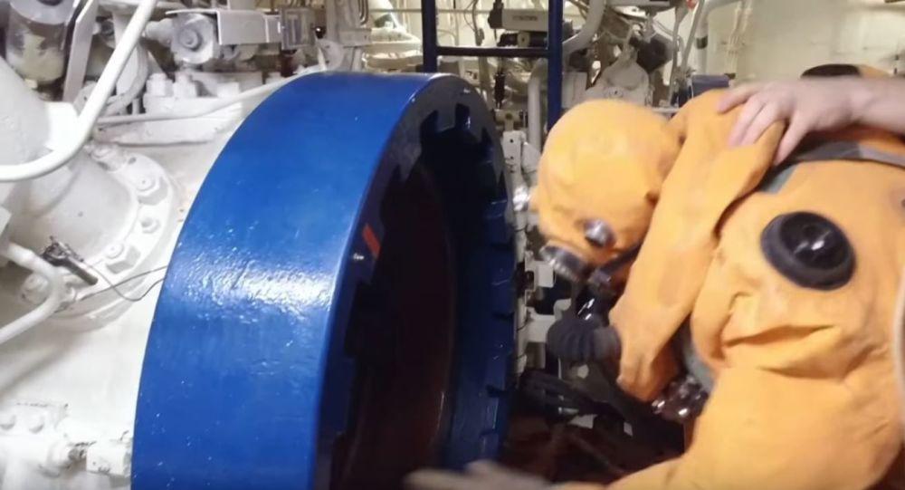 Evacuación desde un submarino