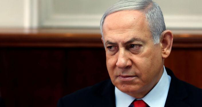 Benjamín Netanyahu, el primer ministro en funciones israeli