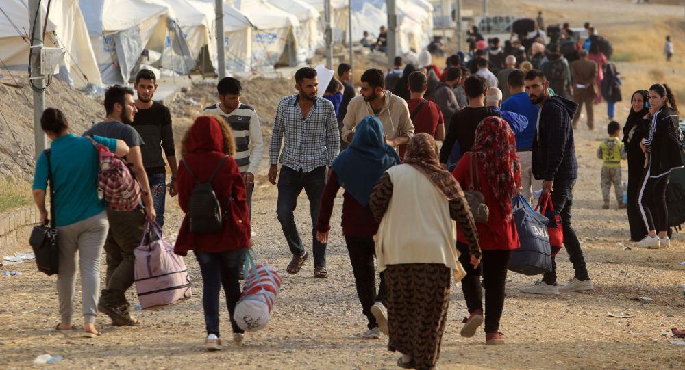 Refugiados sirios (archivo)