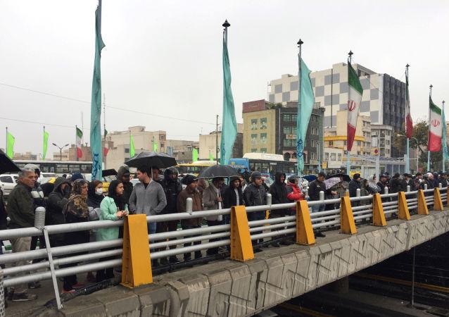 Protestas en Irán contra el aumento del precio de la gasolina