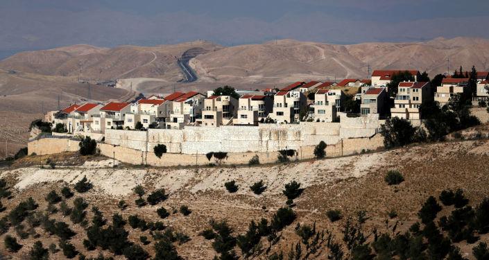 Viviendas en colonias judías en Palestina