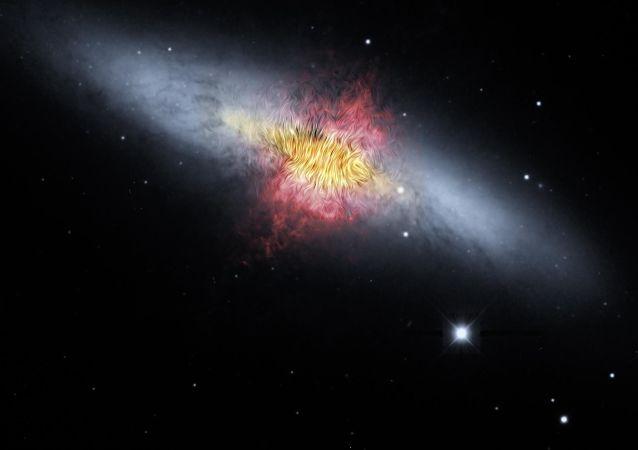Una galaxia del Universo (imagen referencial)