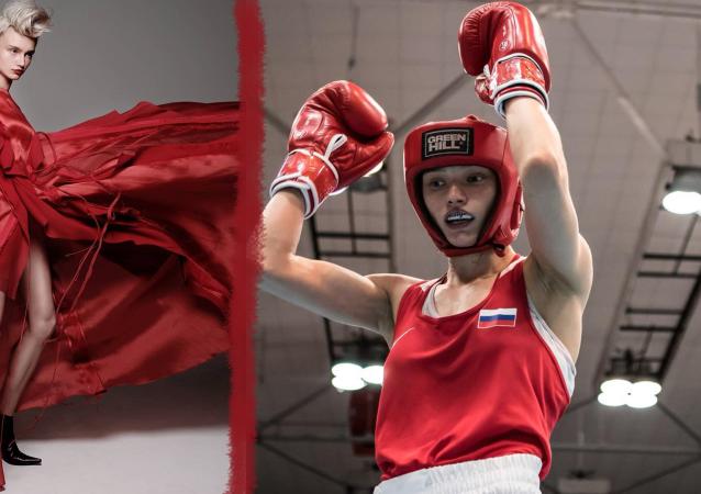 Svetlana Soluyanova, la campeona de Europa 2018 en boxeo femenino