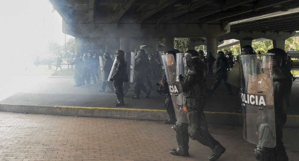 Policía colombiana (imagen referencial)