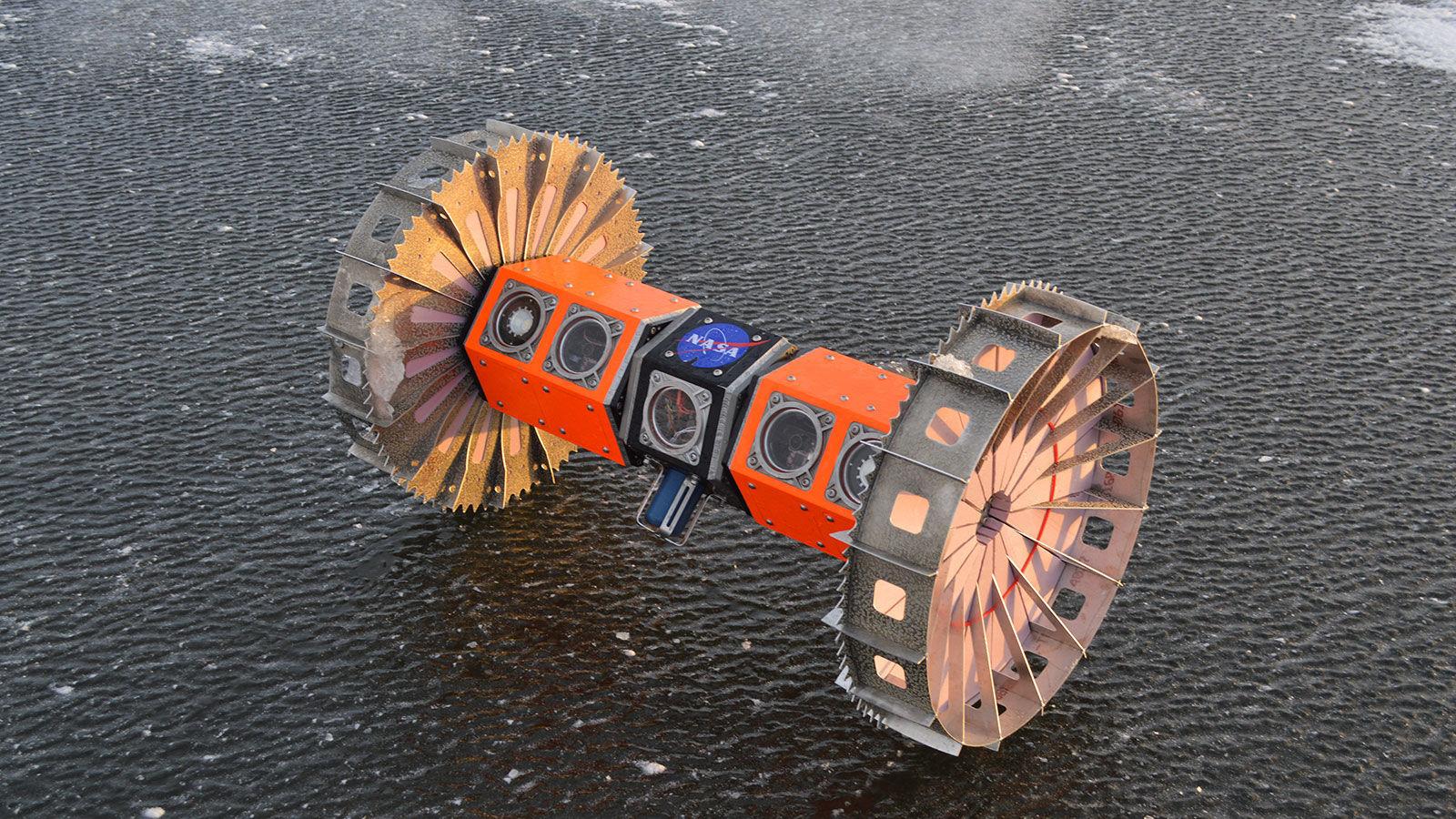 El rover BRUIE creado por la NASA realiza pruebas a bajas temperaturas