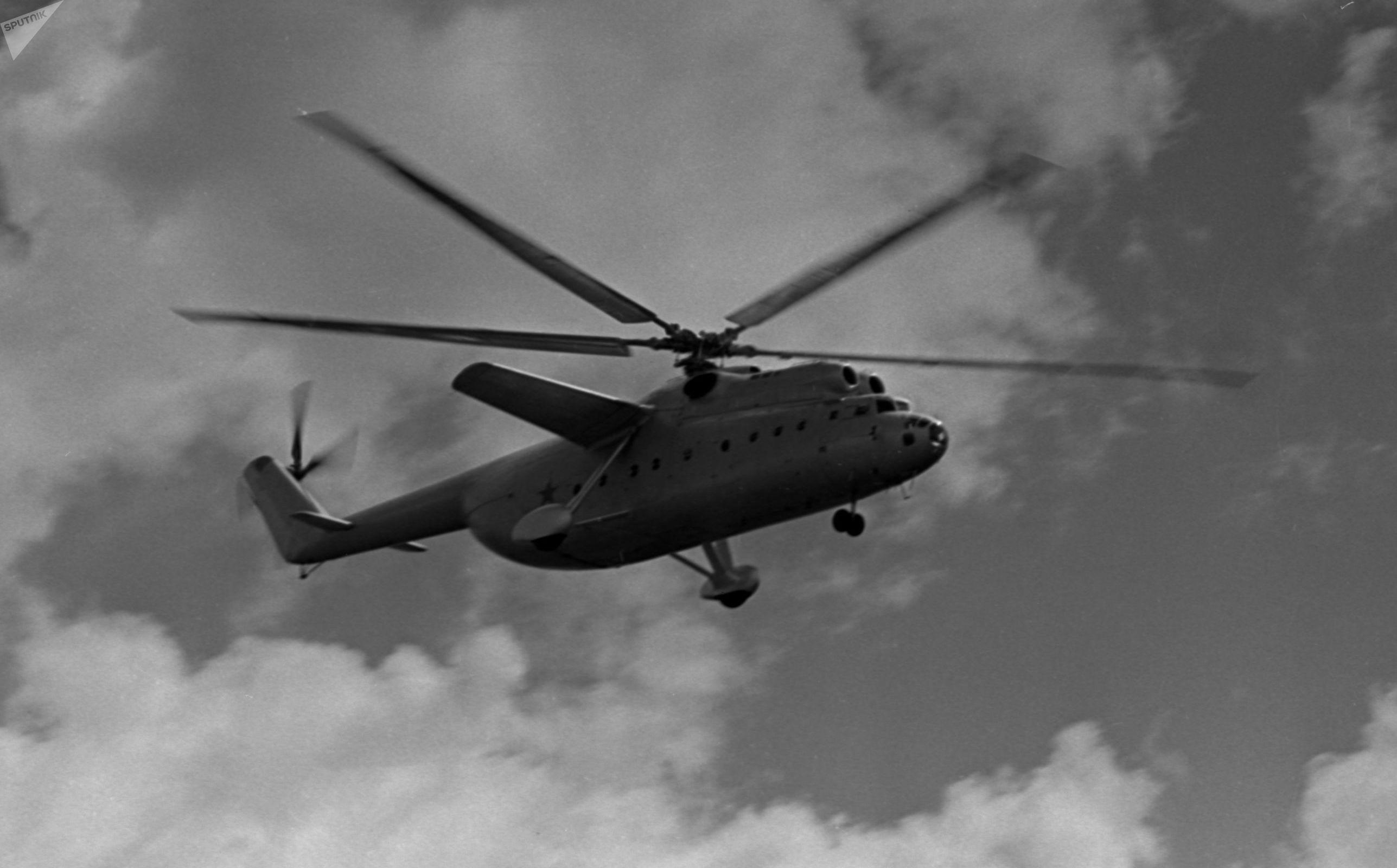 Inicialmente, el Mi-6 fue diseñado para transportar sistemas móviles de misiles Luna.