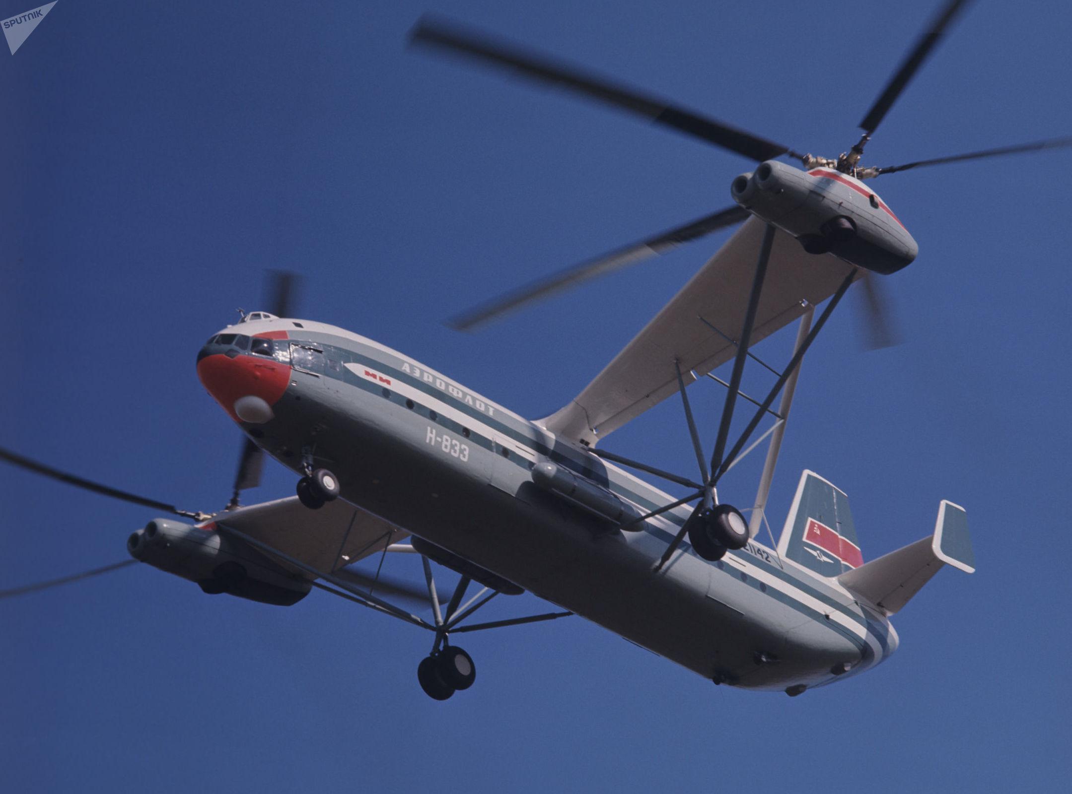 El Mi-12 fue diseñado para transportar misiles balísticos.