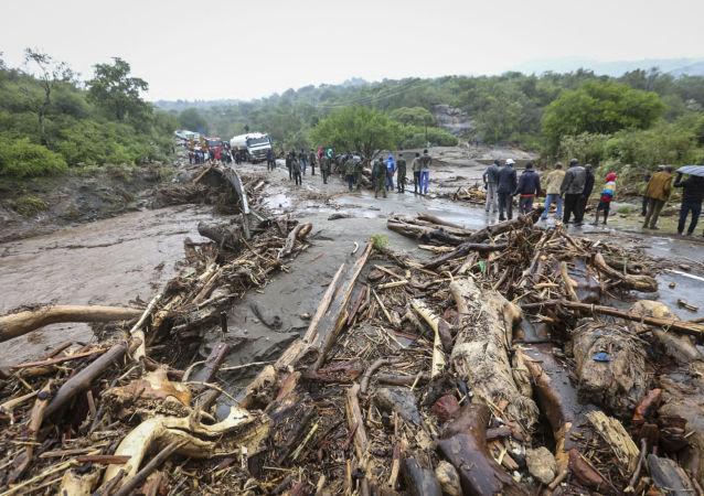 Deslizamiento de tierra en Kenia