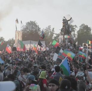 Santiago de Chile, sumergido en protestas y enfrentamientos violentos