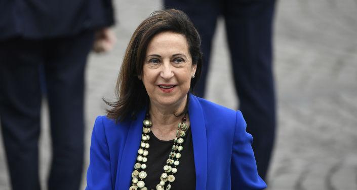 Margarita Robles, la ministra de Defensa española en funciones