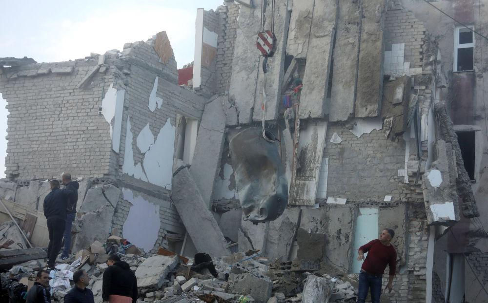 El fuerte terremoto en Albania, en imágenes