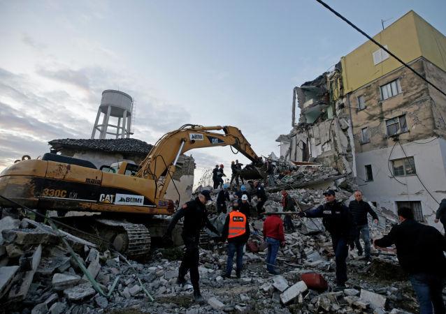 Consecuencias del terremoto en Albania