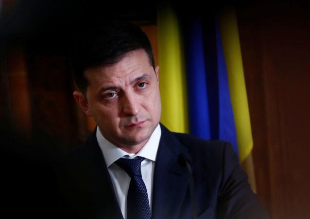 Volodímir Zelenski, el presidente ucraniano