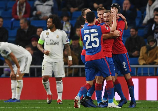 Real Madrid - CSKA Moscú, 0-3