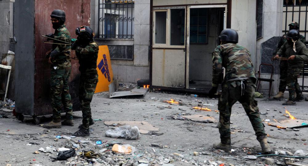 La situación en Bagdad, Irak