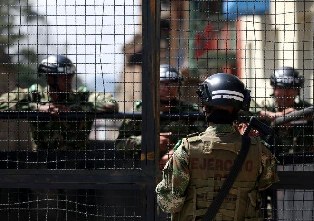 Militares colombianos (Archivo)