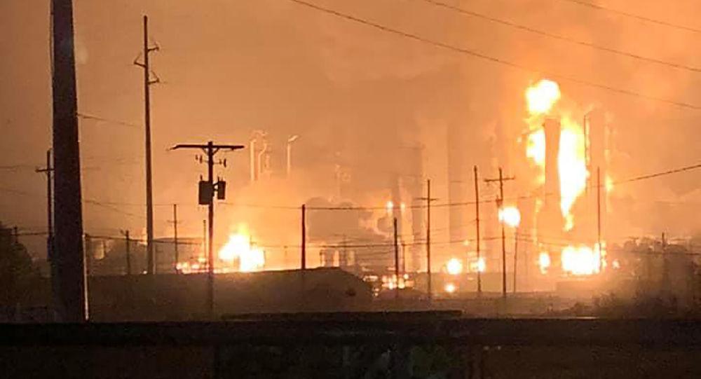 La explosión en Texas