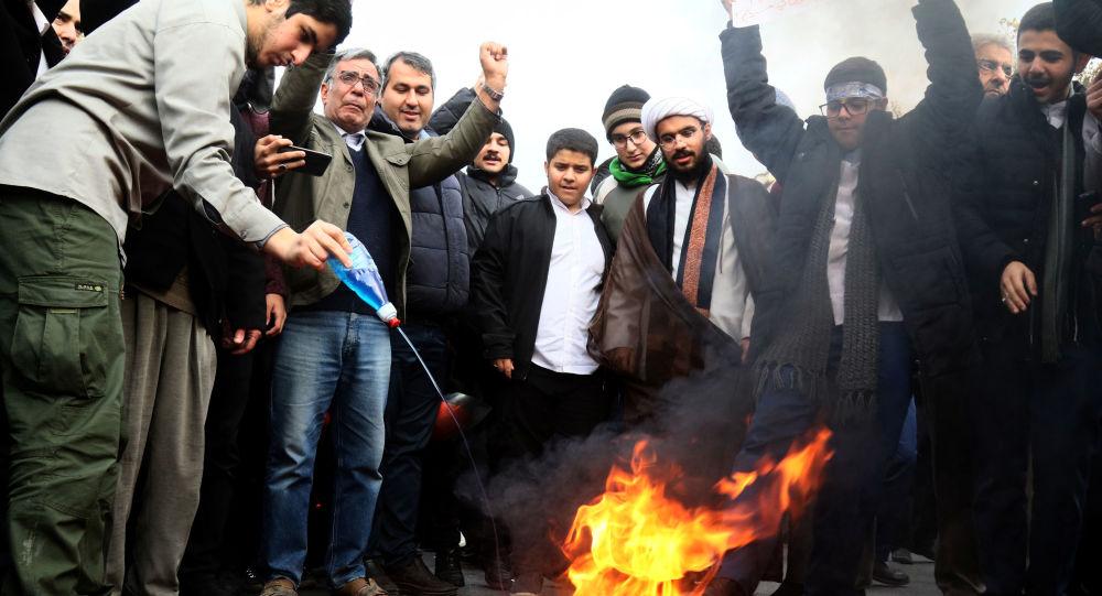 Disturbios en Irán
