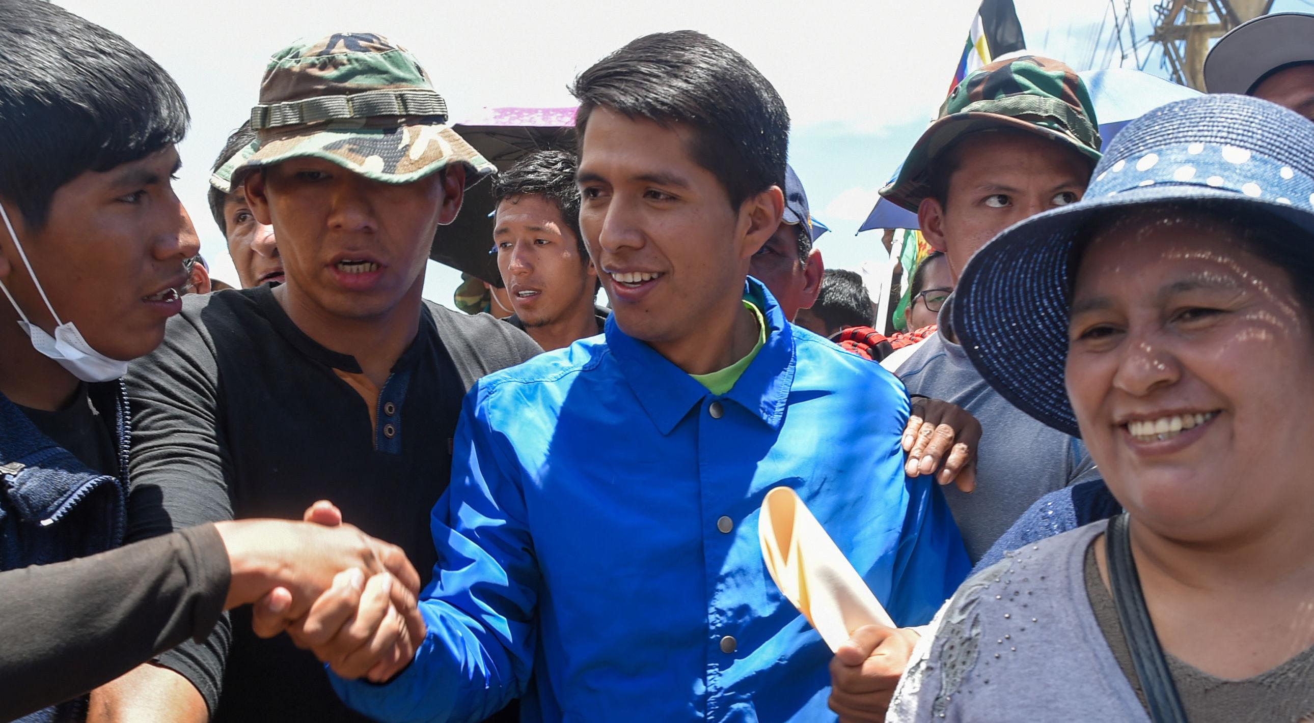 Andrónico Rodríguez, político y dirigente cocalero boliviano
