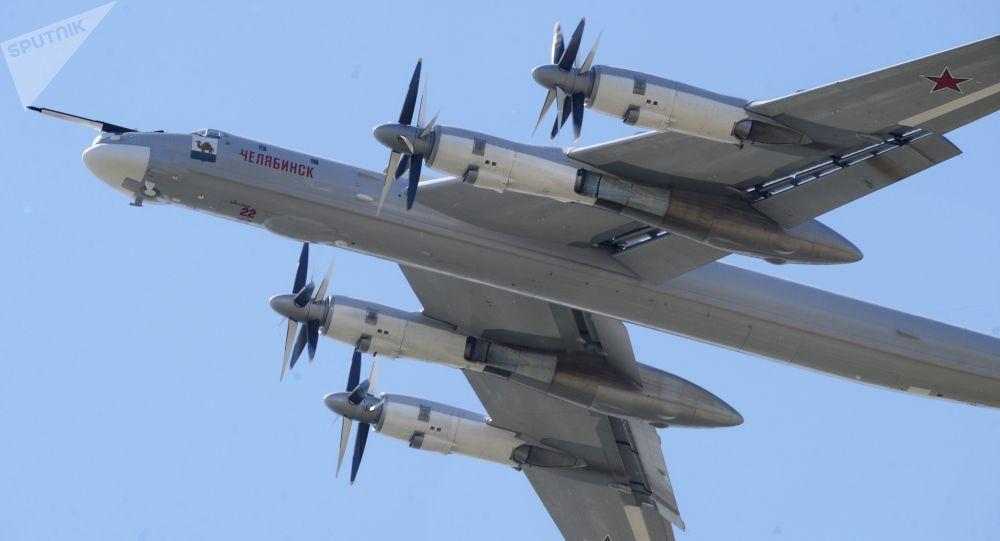 Un bombardero estratégico Tu-95MS (archivo)