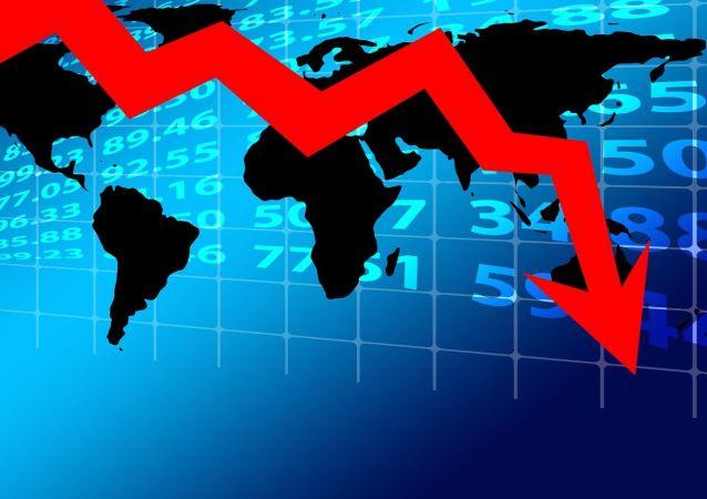 Recesión económica (imagen referencial)