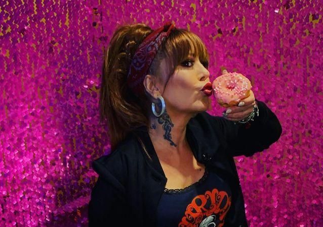 La cantante Alejandra Guzmán