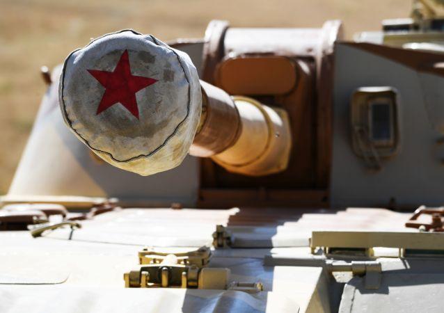 Un autopropulsado ruso (imagen referencial)