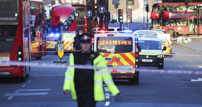 Lugar del tiroteo en el Puente de Londres