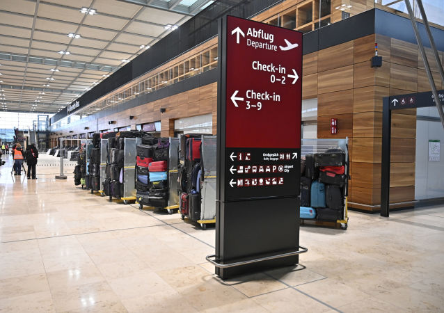 El aeropuerto berlinés de Schonefeld