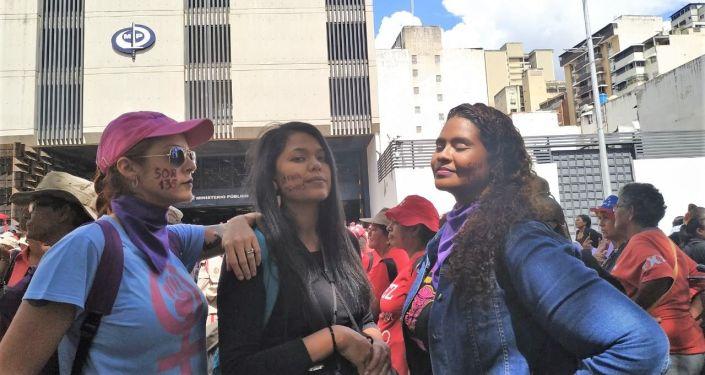 Marcha contra la violencia de género en Caracas, Venezuela